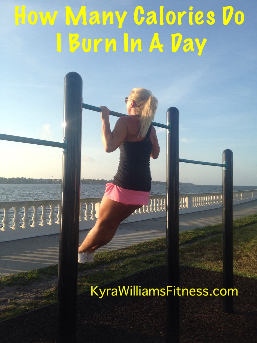 How Many Calories Do I Burn In A Day Kyra Williams Fitness